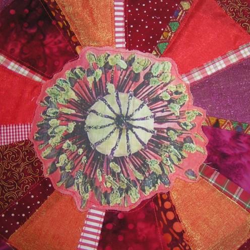Mandala de la flor del opio
